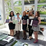 Moscow Glamour with Leonardo Golf Village showroom