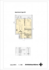 Double apartment 1