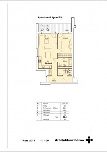 Double apartment 3